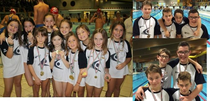 sestina alla 1^ fase del trofeo staffette - Nuoto Club 91 Parma