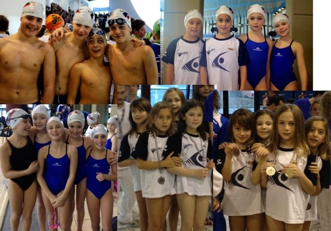 d'oro e d'argento le staffette delle C femmine - Nuoto Club 91 Parma