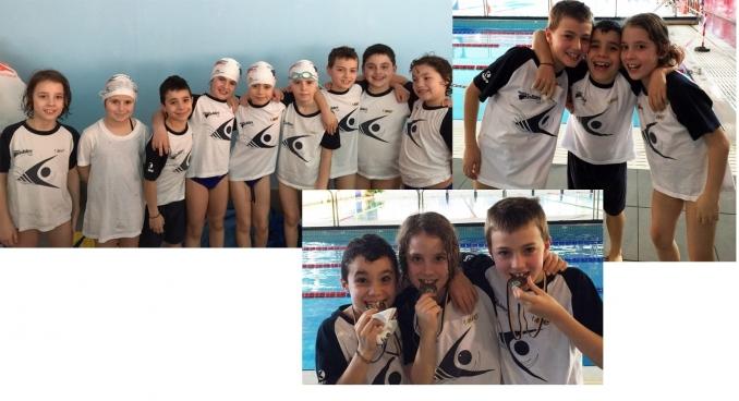 divertimento e medaglie alla 2^ tappa del CSI provinciale - Nuoto Club 91 Parma