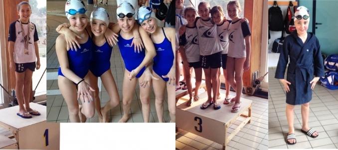 3 medaglie e 1 titolo regionale al GP - Nuoto Club 91 Parma