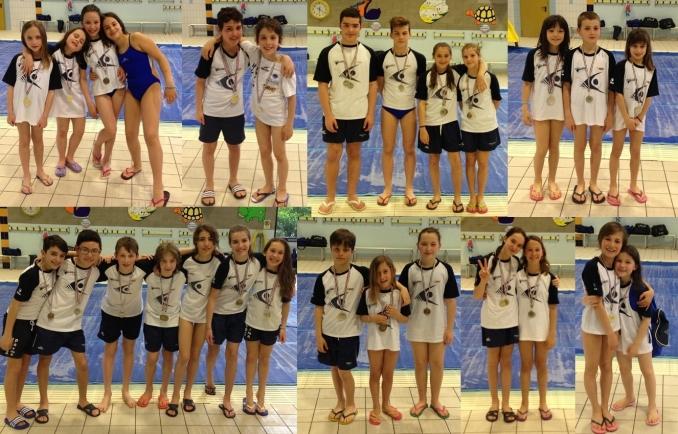 medaglie medaglie medaglie e ottime prestazioni - Nuoto Club 91 Parma