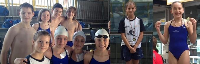 oro e bronzo ai Regionali UISP - Nuoto Club 91 Parma