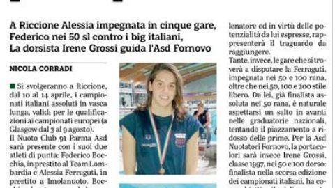 Bocchia e Ferraguti al via i campionati Italiani assoluti