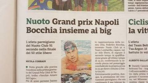 News dalla gazzetta di Parma sui nostri atleti