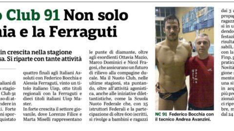Gazzetta di Parma – NC91 tra presente e futuro… Tanti progetti !