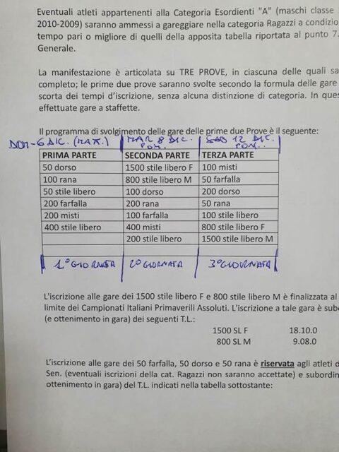 ORARI E REGOLE ANTI-COVID CRCVC1 2020-2021